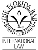 Board Certified – International Law