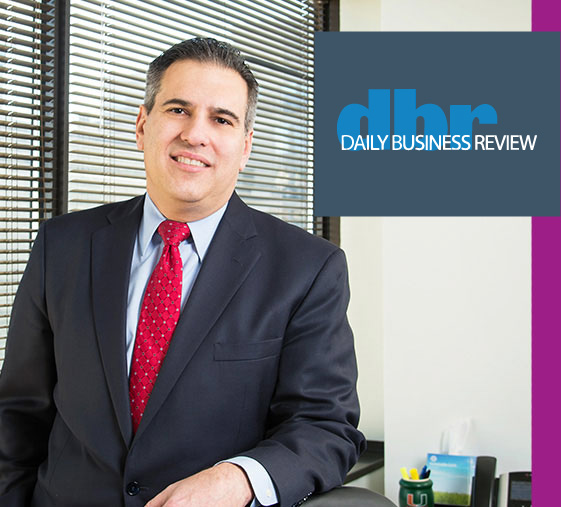 Omar Franco Featured in Daily Business Review Article Discussing Emergency Fund Clawbacks